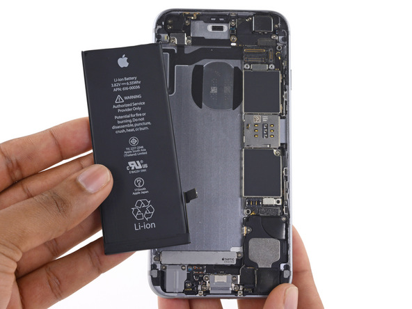 Guide  Bytte iPhone 6s batteri 47d7c8ded2821